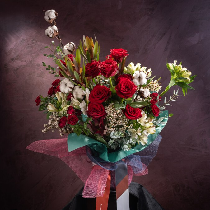 Embers Podium Bouquet