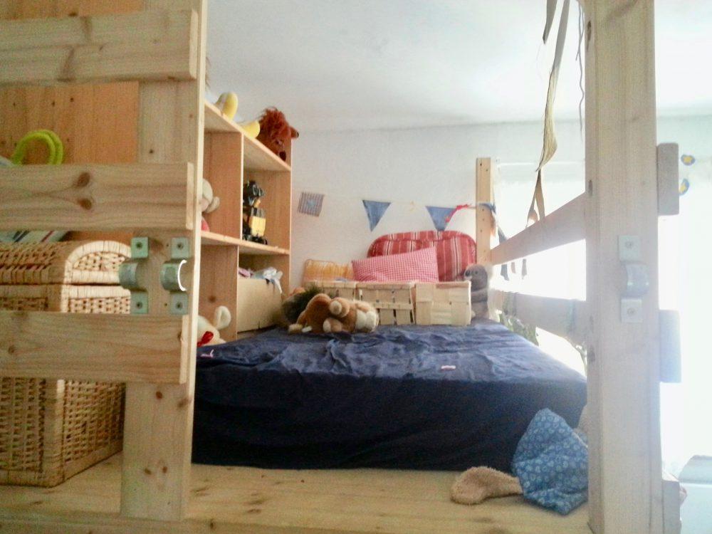 Matratzenlager kinderzimmer  Unser Kinderzimmer- gemütlich und belebt, aber nicht