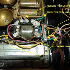 Telephone Handset Wiring Diagram For Photocell Sensor Western Electric Products - Telephones Older Models Than The 500