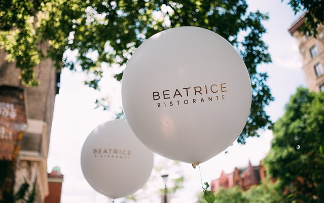 Host an upcoming event at Ristorante Beatrice.