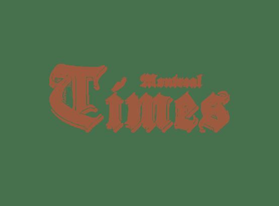 Montreal Times newspaper logo