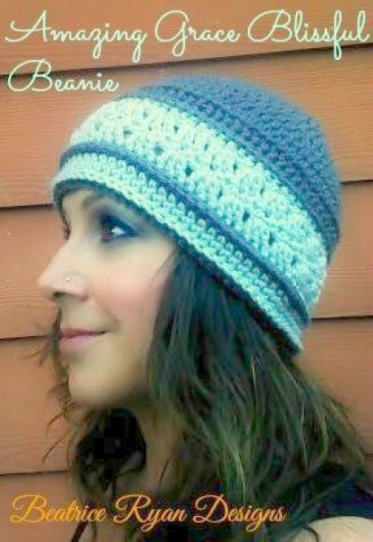 Amazing Grace Blissful Beanie - Free Crochet Pattern