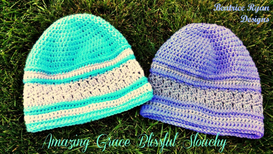 Amazing Grace Blissful Slouchy Hats - Free Pattern