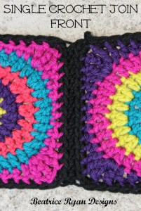 Single Crochet Join Front