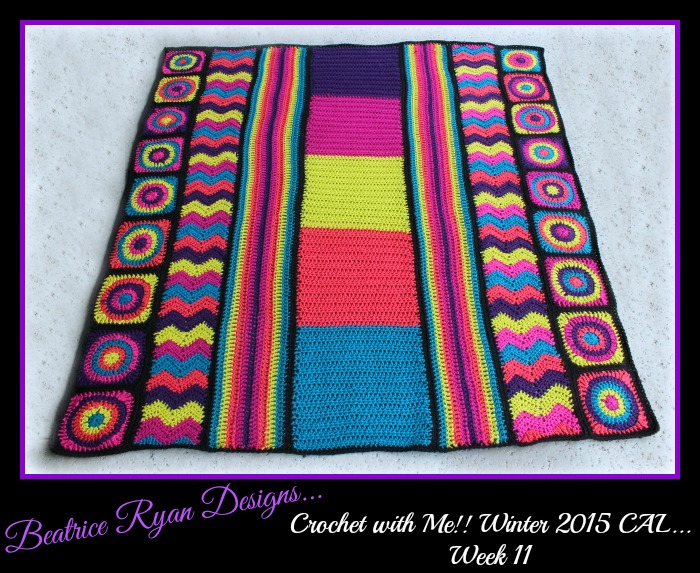 Crochet with Me Winter 2015 week 11