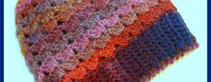 Simple Shells Slouchy Beanie… Free Crochet Pattern!!