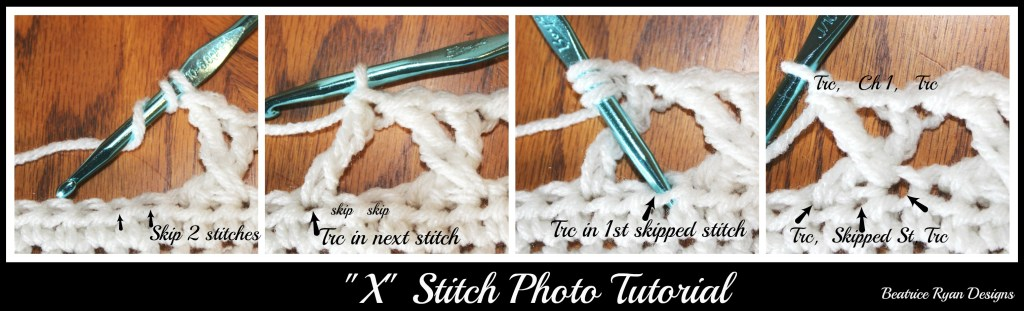 X stitch tutorial