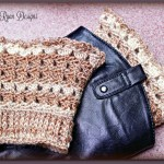 Amazing Grace Boot Cuffs ~ New Free Crochet Pattern!!