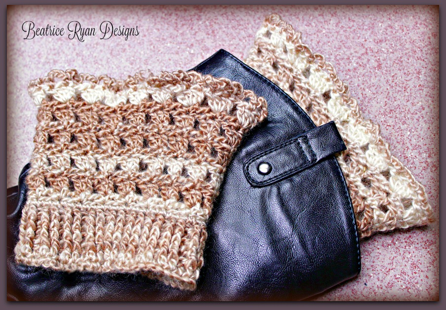 Amazing Grace Boot Cuffs Free Crochet Pattern!!