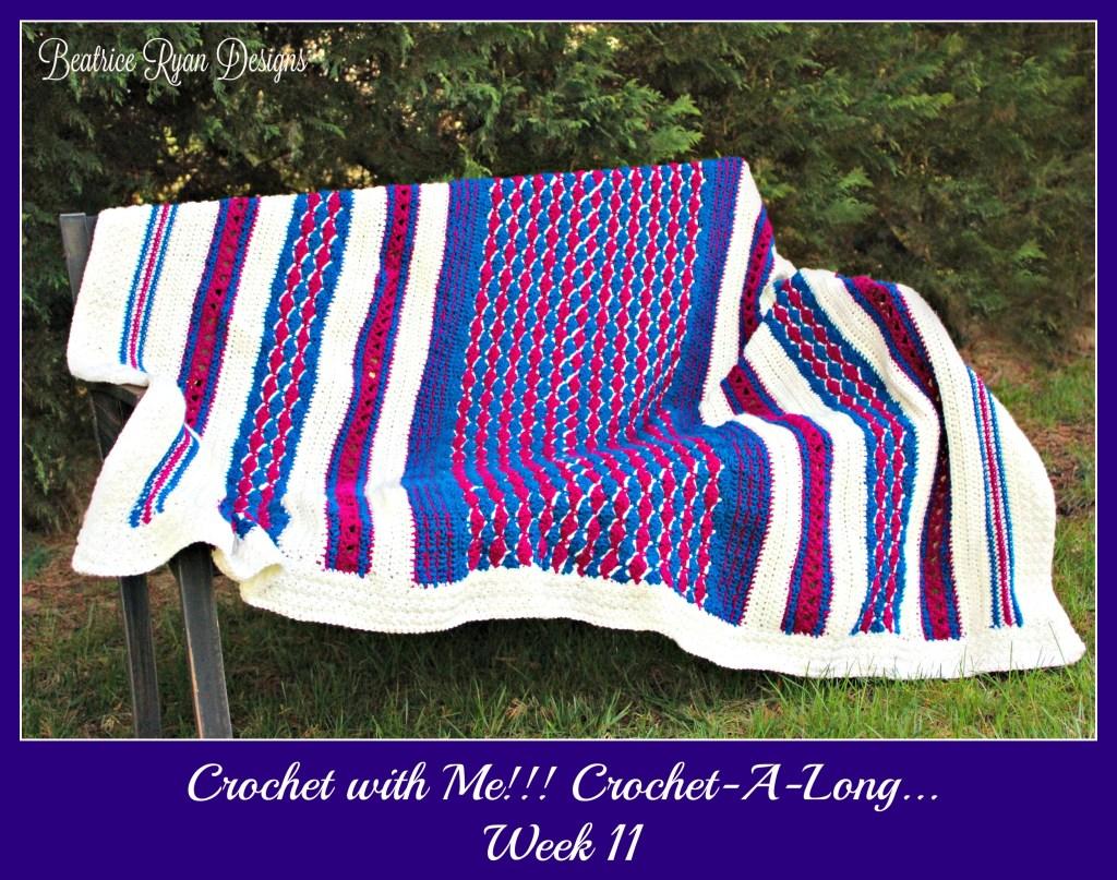 Crochet with Me!! CAL Week 11