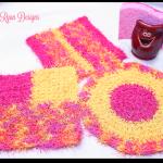 Cheery Kitchen Scrubby's… 3 Free Crochet Patterns!!!