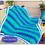 Mountain Streams Baby Blanket… New Free Crochet Pattern!!