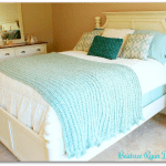 Touch of Teal Afghan… Free Crochet Pattern!!