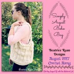 Simply August Boho Bag… Join the Crochet  Along!!!
