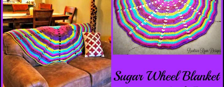 Sugar Wheel Baby Blanket Crochet Along… Week 5!!!