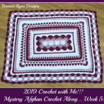 2019 Crochet with Me!! Mystery Afghan Crochet Along… Week 5!!