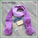 Simple Winter Scarf Free Crochet Pattern~6 Year Blogversary & Giveaway!!!