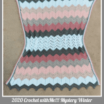 Crochet with Me!!! 7th Annual Mystery Winter Afghan Crochet Along… Week 11!!