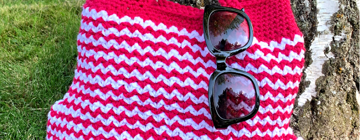 Crazy Daze Bag… Free Crochet Pattern!!