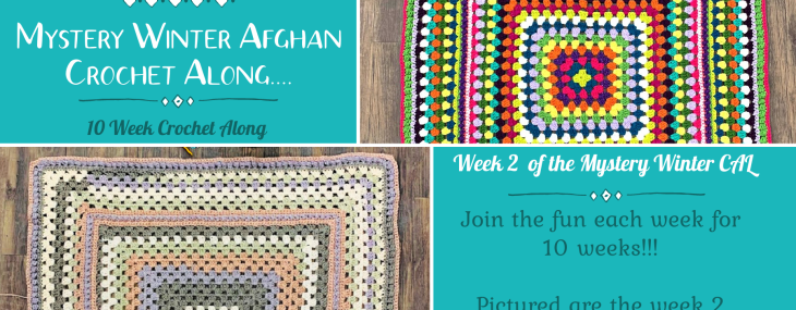 2021 Crochet with Me!!! Mystery Winter Afghan CAL… Week 2!!