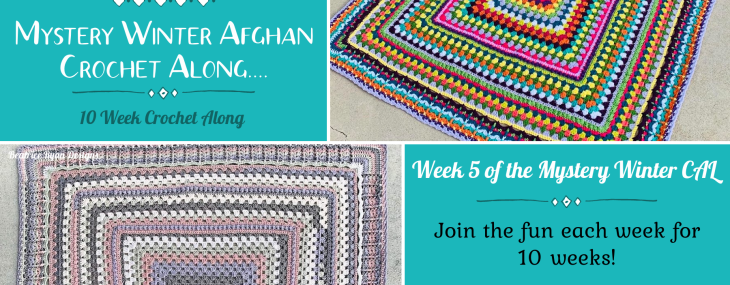 2021 Crochet with Me!!! Mystery Winter Afghan CAL… Week 5!