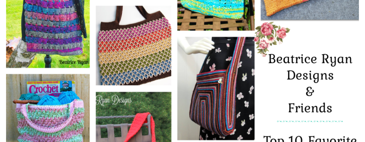 My 10 Favorite Free Crochet Market/Tote Bags…
