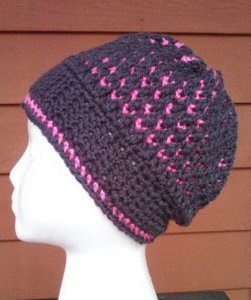 Morning Frost Hat... #FreePattern #Crochet