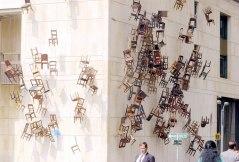 Tenebrae November 6 and 7. Installation. Copyright Doris Salcedo. Photograph by: Martin Garcia-Archivo El Tiempo