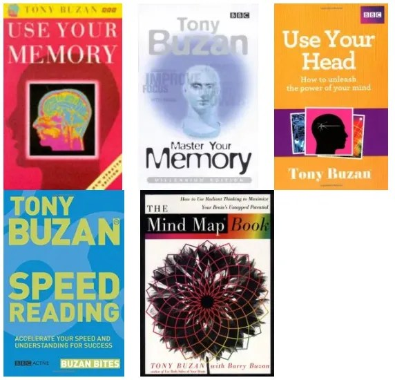 Tony Buzan books