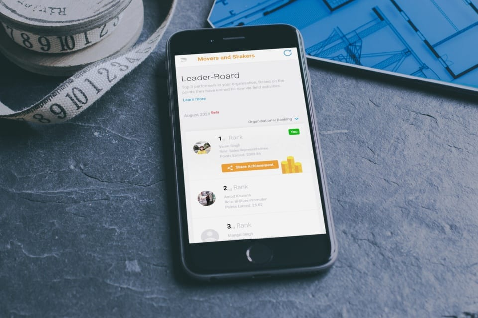 free field sales app