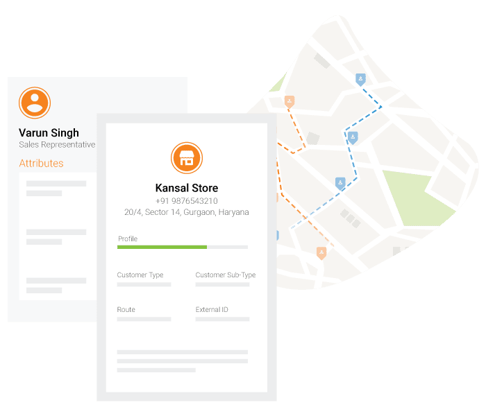 sales force tracking app route optimization