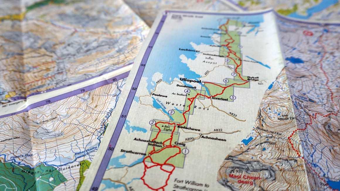 Cape Wrath Trail Route Variants