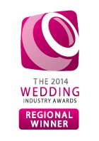The Wedding Industry Awards - Regional Winner