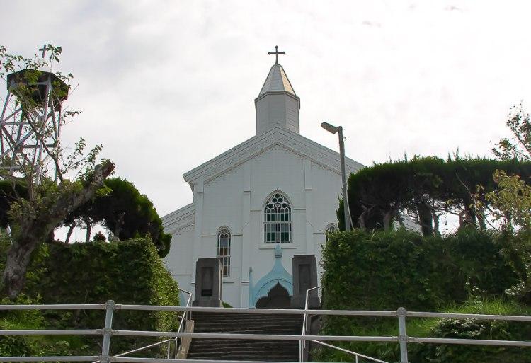 水の浦教会1
