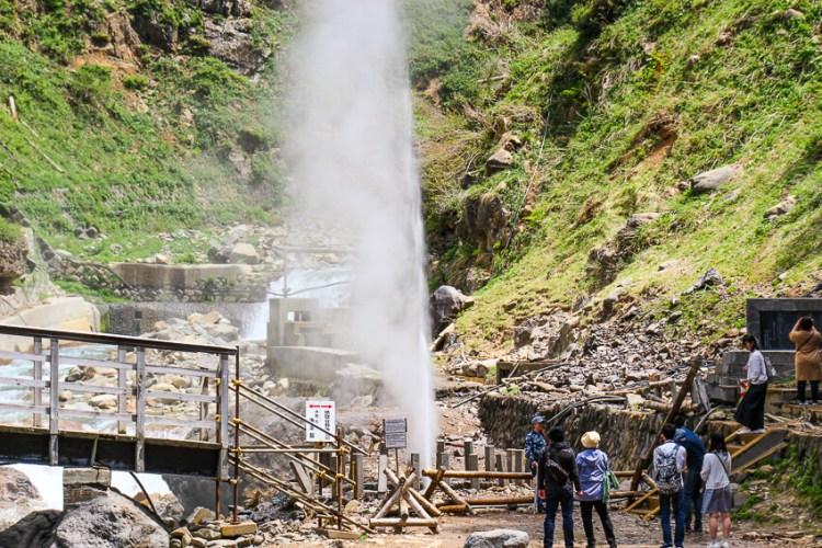 地獄谷噴泉