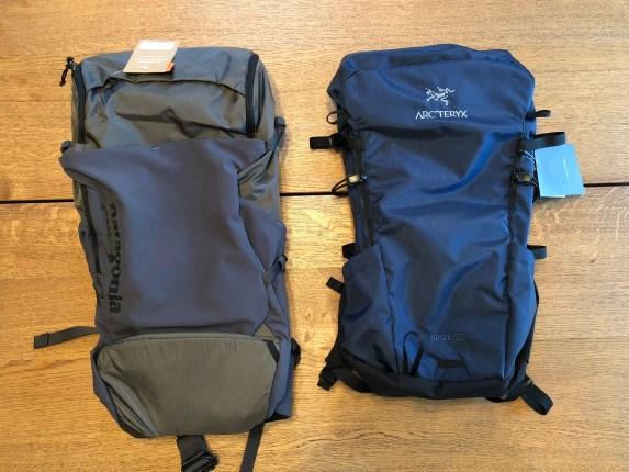 Backpack Review  Arc teryx Brize 25L vs Patagonia Nine Trails 28L ... 322d1c33c