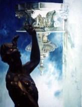 Bronze, 2001, Alkyd/canvas, 48 x 37″