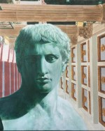 Roman,1995 Acrylic/canvas 20 x 16″