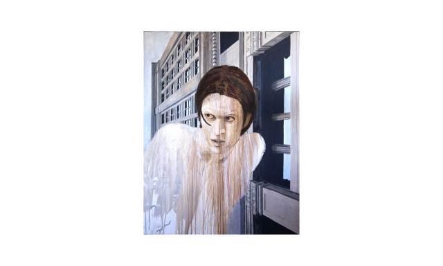 """gaveston"" acrylic on canvas"