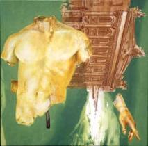 Palladium, 2000, Alkyd/panel, 24 x 24″