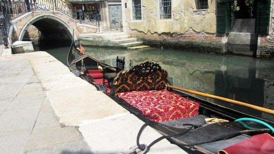 A Traditional Gondola