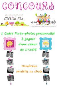 cadre-porte photos personnalisable-chtite-fee