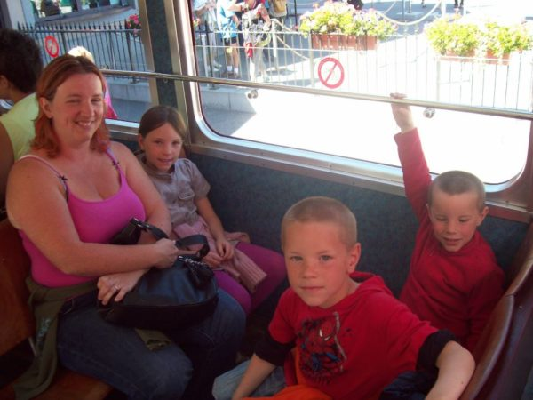 voyager en famille / dans le train du Montenvers