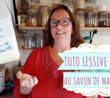 Lessive maison au savon de Marseille {DIY + Vidéo}