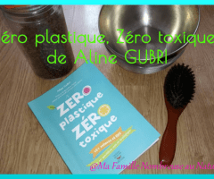"""""""Zéro plastique, Zéro toxique"""" de Aline Gubri {Lecture}"""