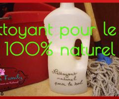 Nettoyant pour le sol naturel et écologique {DIY + Vidéo}