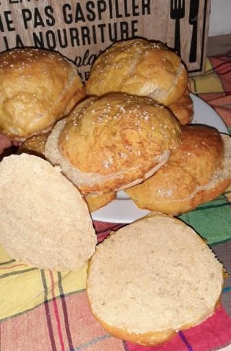 recette des pains burger maison