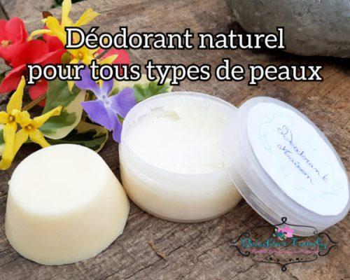 Déodorant naturel maison pour tous types de peaux {DIY}