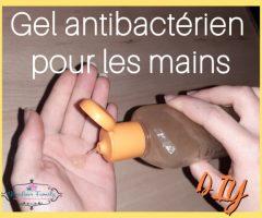 Fabriquer du gel antibactérien pour les mains {DIY}