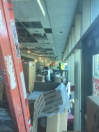 Construction at Ekstrom Starbucks